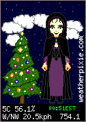 Christmas Goth Weather Pixie