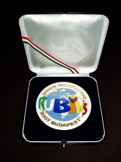 Rubik's World Championship 2007 medallion