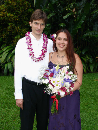 Peter and Jasmine at Haik Gardens