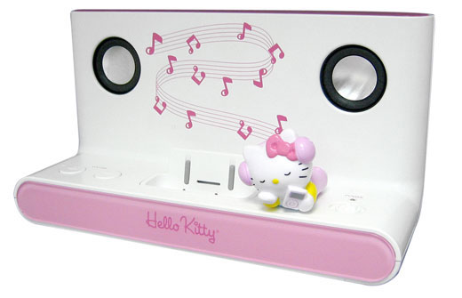 Hello Kitty iPod speakers